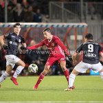 19-01-2018: Voetbal: Almere City FC v NEC: Almere (L-R) Anass Ahannach (Almere City FC), Anass Achahbar (NEC) Jupiler League 2017 / 2018