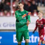 19-01-2018: Voetbal: Almere City FC v NEC: Almere goalkeeper Joris Delle (NEC), baalt! Jupiler League 2017 / 2018