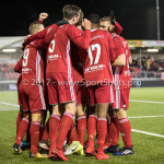 19-01-2018: Voetbal: Almere City FC v NEC: Almere Almere City FC Celebrates 1-0 Jupiler League 2017 / 2018