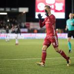 19-01-2018: Voetbal: Almere City FC v NEC: Almere Silvester van de Water (Almere City FC) 3-2 Jupiler League 2017 / 2018