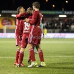 19-01-2018: Voetbal: Almere City FC v NEC: Almere Almere City FC Celebrating 3-2 Jupiler League 2017 / 2018