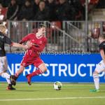 19-01-2018: Voetbal: Almere City FC v NEC: Almere (L-R) Mart Dijkstra (NEC), Josef Kvída (Almere City FC), Michael Heinloth (NEC) Jupiler League 2017 / 2018