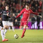 19-01-2018: Voetbal: Almere City FC v NEC: Almere Dennis van der Heijden (Almere City FC) Jupiler League 2017 / 2018
