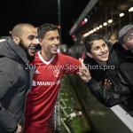 19-01-2018: Voetbal: Almere City FC v NEC: Almere Soufyan Ahannach op bezoek bij neef Anass Ahannach (Almere City FC) Jupiler League 2017 / 2018