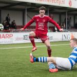 20-01-2018: Voetbal: Almere City FC O17 v De Graafschap O17: Almere Joel van Blerk (Almere City FC O17)