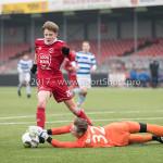 20-01-2018: Voetbal: Almere City FC O17 v De Graafschap O17: Almere Reinoud van Eijk (Almere City FC O17)