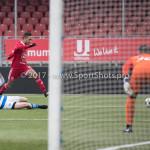 20-01-2018: Voetbal: Almere City FC O17 v De Graafschap O17: Almere Jeffrey Puriel (Almere City FC O17)