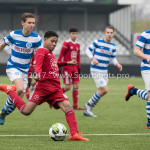 20-01-2018: Voetbal: Almere City FC O17 v De Graafschap O17: Almere Tyrese Noslin (Almere City FC O17)