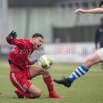20-01-2018: Voetbal: Almere City FC O17 v De Graafschap O17: Almere Djenairo Daniels (Almere City FC O17)