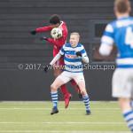 20-01-2018: Voetbal: Almere City FC O17 v De Graafschap O17: Almere Ryan Flamingo (Almere City FC O17)
