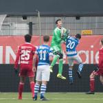 20-01-2018: Voetbal: Almere City FC O17 v De Graafschap O17: Almere Shawn Veldhuis (Almere City FC O17)