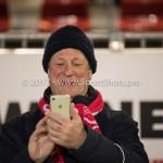 02-02-2018: Voetbal: Almere City FC v FC Dordrecht: Almere Supporter Almere City FC Jupiler League 2017 / 2018