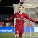 02-02-2018: Voetbal: Almere City FC v FC Dordrecht: Almere Silvester van de Water (Almere City FC) 1-1 Jupiler League 2017 / 2018