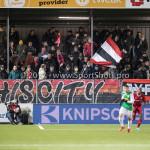 02-02-2018: Voetbal: Almere City FC v FC Dordrecht: Almere Supporters Almere City FC Jupiler League 2017 / 2018