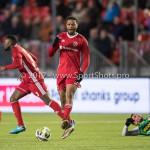 02-02-2018: Voetbal: Almere City FC v FC Dordrecht: Almere Jerge Hoefdraad (Almere City FC) Jupiler League 2017 / 2018