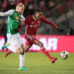 02-02-2018: Voetbal: Almere City FC v FC Dordrecht: Almere Arsenio Valpoort (Almere City FC) Jupiler League 2017 / 2018