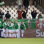 02-02-2018: Voetbal: Almere City FC v FC Dordrecht: Almere FC Dordrecht celebrating 1-2 Jupiler League 2017 / 2018