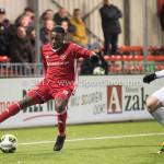 09-02-2018: Voetbal: FC Oss v Almere City FC: Oss Leeroy Owusu (Almere City FC) Jupiler League 2017 / 2018