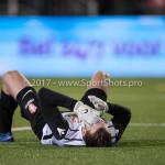 09-02-2018: Voetbal: FC Oss v Almere City FC: Oss goalkeeper Xavier Mous (FC Oss) Jupiler League 2017 / 2018