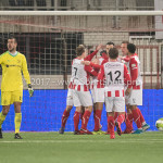 09-02-2018: Voetbal: FC Oss v Almere City FC: Oss FC Oss Celebrating 5-1 Jupiler League 2017 / 2018
