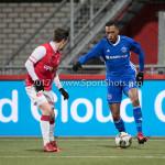 23-02-2018: Voetbal: MVV Maastricht v Almere City FC: Maastricht (L-R) Alessandro Ciranni (MVV), Arsenio Valpoort (Almere City FC) Jupiler League 2017 / 2018
