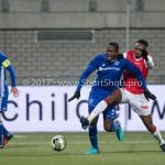 2018a23-02-2018: Voetbal: MVV Maastricht v Almere City FC: Maastricht (L-R)Calvin Mac Intosch (Almere City FC), Tuur Houben (MVV) Jupiler League 2017 / 20180223-112804-2x108678