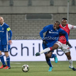 23-02-2018: Voetbal: MVV Maastricht v Almere City FC: Maastricht (L-R)Calvin Mac Intosch (Almere City FC), Tuur Houben (MVV) Jupiler League 2017 / 2018