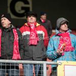 23-02-2018: Voetbal: MVV Maastricht v Almere City FC: Maastricht Supporter Almere City FC  Jupiler League 2017 / 2018