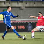 23-02-2018: Voetbal: MVV Maastricht v Almere City FC: Maastricht Dennis van der Heijden (Almere City FC) Jupiler League 2017 / 2018