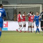 23-02-2018: Voetbal: MVV Maastricht v Almere City FC: Maastricht MVV celebrating 3-0 Jupiler League 2017 / 2018