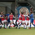 23-02-2018: Voetbal: MVV Maastricht v Almere City FC: Maastricht opstootje Jupiler League 2017 / 2018