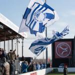 24-02-2018: Voetbal: Jong Almere City v Quick Boys: Almere Sfeer in stadion 3de divisie zaterdag 2017 / 2018