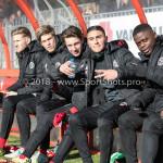 24-02-2018: Voetbal: Jong Almere City v Quick Boys: Almere Bank 3de divisie zaterdag 2017 / 2018