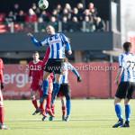 24-02-2018: Voetbal: Jong Almere City v Quick Boys: Almere Kenny Anderson (Quick Boys) 3de divisie zaterdag 2017 / 2018