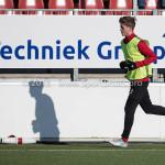24-02-2018: Voetbal: Jong Almere City v Quick Boys: Almere Jelle Goselink (Jong Almere City FC) 3de divisie zaterdag 2017 / 2018