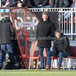 24-02-2018: Voetbal: Jong Almere City v Quick Boys: Almere Dirk Kuyt - assistent trainer (Quick Boys) 3de divisie zaterdag 2017 / 2018