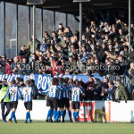 24-02-2018: Voetbal: Jong Almere City v Quick Boys: Almere Supporters Quick Boys 3de divisie zaterdag 2017 / 2018