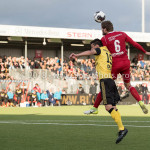 10-05-2018: Voetbal: Almere City FC v Roda JC: Almere (L-R) Ognjen Gnjatic (Roda JC), JJavier Vet (Almere City FC) Jupiler League halve finale play-offs 2017 / 2018