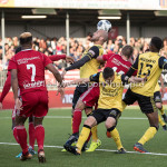 10-05-2018: Voetbal: Almere City FC v Roda JC: Almere (L-R) Dani Schahin (Roda JC), Damon Mirani (Almere City FC) Jupiler League halve finale play-offs 2017 / 2018