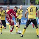 10-05-2018: Voetbal: Almere City FC v Roda JC: Almere (L-R) Ognjen Gnjatic (Roda JC), Javier Vet (Almere City FC) Jupiler League halve finale play-offs 2017 / 2018