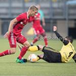 13-05-2018: Voetbal: Roda JC v Almere City FC: Kerkrade (L-R) Silvester van de Water (Almere City FC), Christian Kum (Roda JC) Jupiler League halve finale play-offs 2017 / 2018h