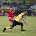 13-05-2018: Voetbal: Roda JC v Almere City FC: Kerkrade (L-R) Tom Overtoom (Almere City FC), Adil Auassar (Roda JC) Jupiler League halve finale play-offs 2017 / 2018