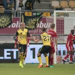 13-05-2018: Voetbal: Roda JC v Almere City FC: Kerkrade (L-R)Dani Schahin (Roda JC) 1-1, Donis Avdijaj (Roda JC) Jupiler League halve finale play-offs 2017 / 2018