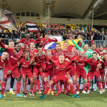 13-05-2018: Voetbal: Roda JC v Almere City FC: Kerkrade Almere City FC Celebrating Jupiler League halve finale play-offs 2017 / 2018
