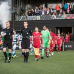 17-05-2018: Voetbal: Almere City FC v De Graafschap: Almere (L-R) Tom Overtoom (Almere City FC), goalkeeper Chiel Kramer (Almere City FC) Jupiler League finale play-offs 2017 / 2018