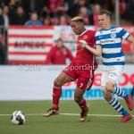 17-05-2018: Voetbal: Almere City FC v De Graafschap: Almere (L-R) Sherjill Mac-Donalds (Almere City FC), Lars Nieuwpoort (De Graafschap) Jupiler League finale play-offs 2017 / 2018