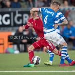 17-05-2018: Voetbal: Almere City FC v De Graafschap: Almere (L-R) Silvester van de Water (Almere City FC), Lars Nieuwpoort (De Graafschap) Jupiler League finale play-offs 2017 / 2018