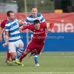17-05-2018: Voetbal: Almere City FC v De Graafschap: Almere (L-R) Robert Klaasen (De Graafschap), Tom Overtoom (Almere City FC) Jupiler League finale play-offs 2017 / 2018