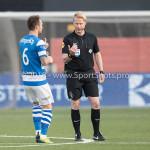 17-05-2018: Voetbal: Almere City FC v De Graafschap: Almere (L-R) Robert Klaasen (De Graafschap), Kevin Blom (Scheidsrechter) Jupiler League finale play-offs 2017 / 2018