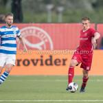 17-05-2018: Voetbal: Almere City FC v De Graafschap: Almere (L-R) Fabian Serrarens (De Graafschap), Damon Mirani (Almere City FC) Jupiler League finale play-offs 2017 / 2018